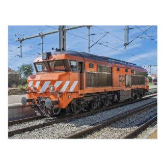No. 1943 de la locomotora diesel de Portugal Postales