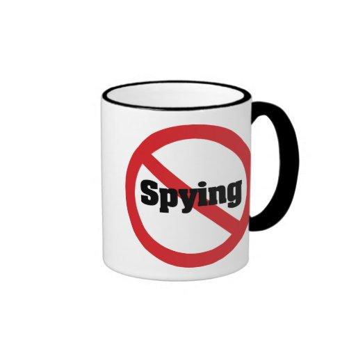 No 1984 Big Brother Spying Coffee Mugs