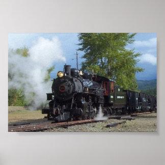 No. 19 impresión del tren del lastre