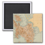 No 19 Leyte 2 Inch Square Magnet