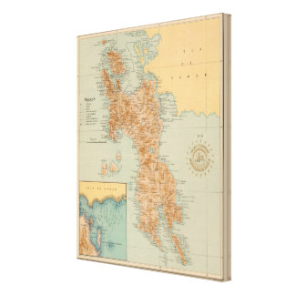 No 19 Leyte Gallery Wrapped Canvas