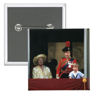 No.19 Prince William Buckingham Palace 1985 Button