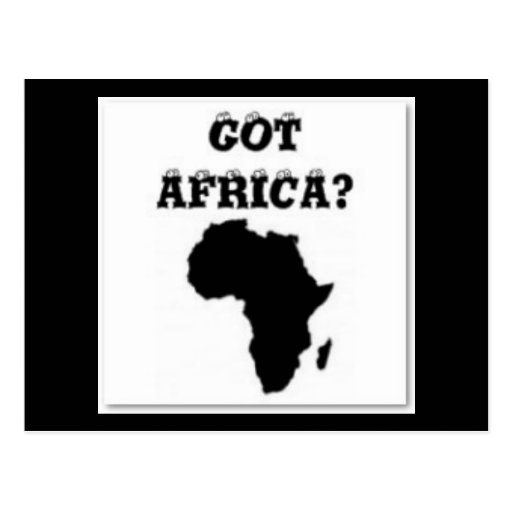 No 1 African Postcards