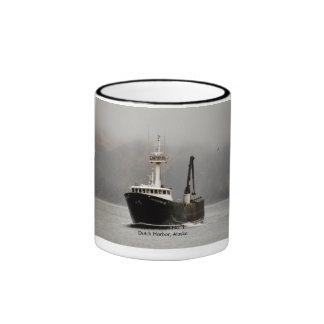 No. 1, barco del Aleutian del cangrejo en el puert Taza