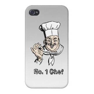 No. 1 Chef Cover For iPhone 4