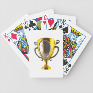 No 1 Cup Bicycle Playing Cards