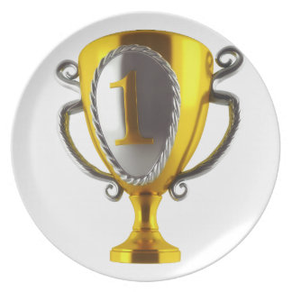 No 1 Cup Dinner Plate