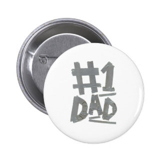 No.1 Dad (Duct Tape) Pin