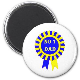 No 1 dad magnet