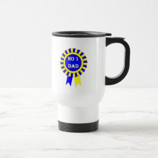 No 1 dad travel mug