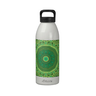 No 1 del verde del Victorian Botellas De Agua Reutilizables