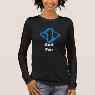 No.1 Golf Fan Long Sleeve T-Shirt