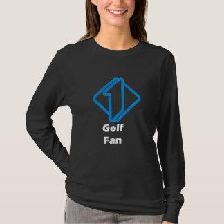 No.1 Golf Fan T-Shirt