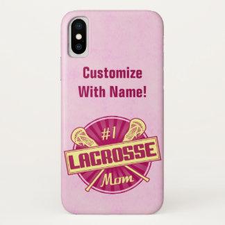 No. 1 Lacrosse Mom Customizable Case