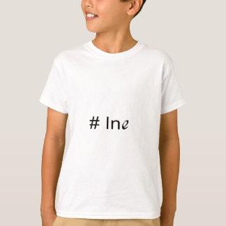 No 1 ln e _ text T-Shirt