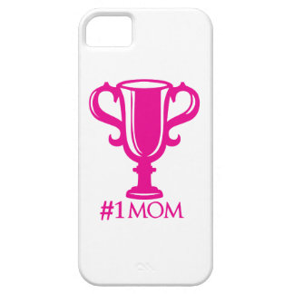 No.1 Mom iPhone 5 Covers
