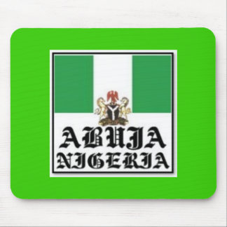 NO 1 NIGERIA T-SHIRT AND ACCESSORIES MOUSE PAD
