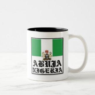 NO 1 NIGERIA T-SHIRT AND ACCESSORIES Two-Tone COFFEE MUG