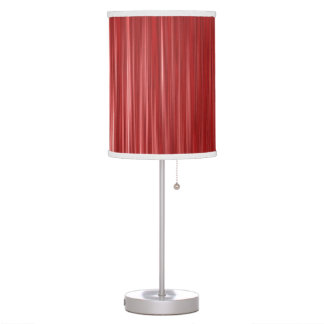 No.1 rojo y blanco moderno lámpara de escritorio
