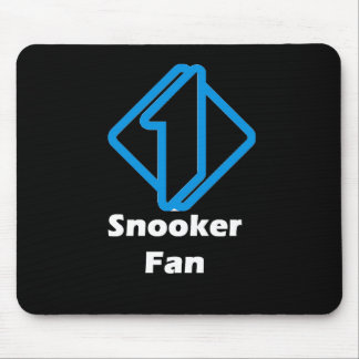 No.1 Snooker Fan Mouse Pad