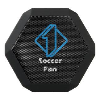 No.1 Soccer Fan Black Bluetooth Speaker