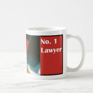 No. 1 taza del abogado del abogado del número uno