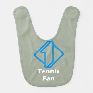No.1 Tennis Fan Baby Bib
