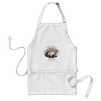 No.1 The Royal Wedding William & Catherine Adult Apron