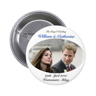 No.1 The Royal Wedding William & Catherine Pinback Buttons