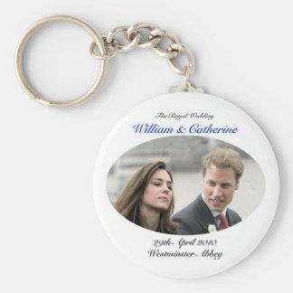 No.1 The Royal Wedding William & Catherine Keychains