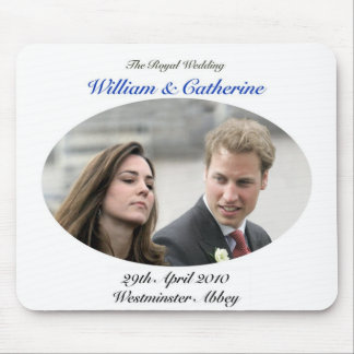 No.1 The Royal Wedding William & Catherine Mouse Pad