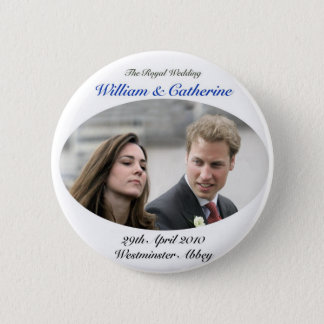 No.1 The Royal Wedding William & Catherine Pinback Button