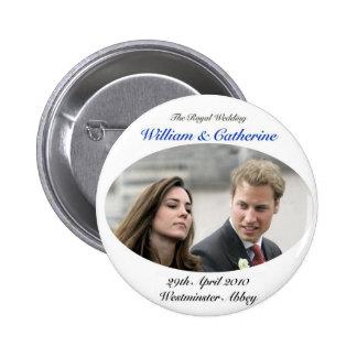 No.1 The Royal Wedding William & Catherine Pinback Button