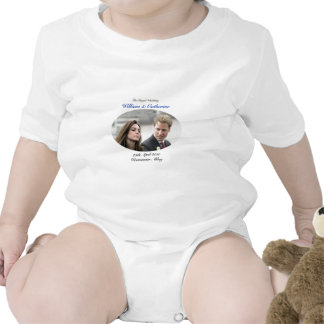 No.1 The Royal Wedding William & Catherine Rompers