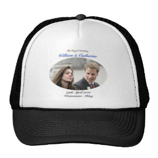 No.1 The Royal Wedding William & Catherine Trucker Hat