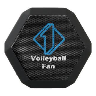 No.1 Volleyball Fan Black Bluetooth Speaker