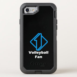 No.1 Volleyball Fan OtterBox Defender iPhone 7 Case