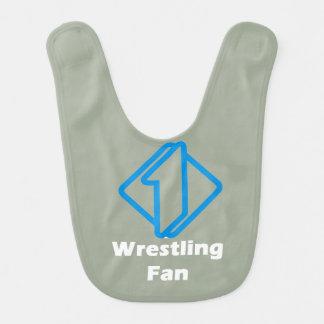 No.1 Wrestling Fan Bib