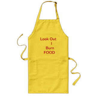 No # 201 - Cooking Apron EX. long , Yellow , MT.