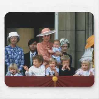No.20 Buckingham Palace 1985 del príncipe Guillerm Alfombrillas De Ratones
