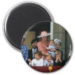 No.20 Buckingham Palace 1985 del príncipe Guillerm Imán Redondo 5 Cm