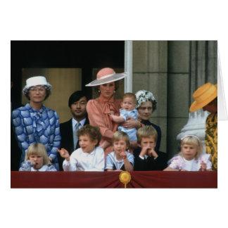 No.20 Buckingham Palace 1985 del príncipe Tarjeta De Felicitación