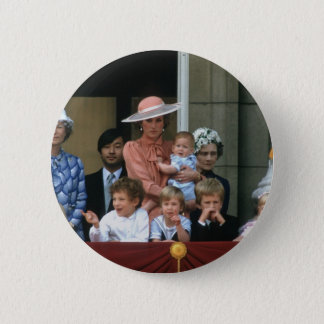 No.20 Prince William Buckingham Palace 1985 Button