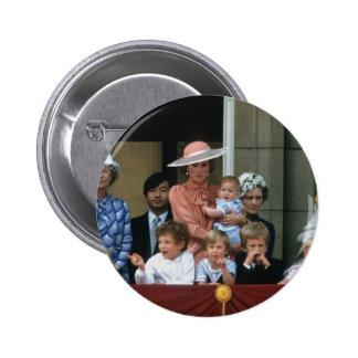 No.20 Prince William Buckingham Palace 1985 Button