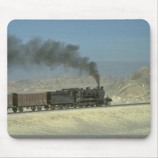 No. 2188 heads a freight through the barren Northw Mouse Pads