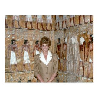 No.230 princesa Diana Egipto 1992 Tarjetas Postales