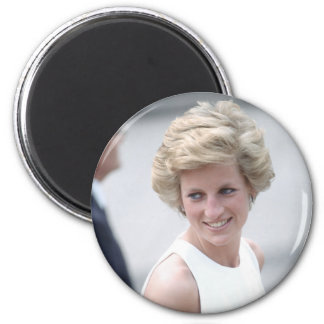No.23 Princess Diana visits Budapest, Hungary 1990 2 Inch Round Magnet