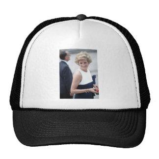 No.23 Princess Diana visits Budapest, Hungary 1990 Trucker Hat