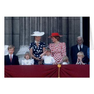 No.26 el príncipe Guillermo saluda 1986 Felicitaciones