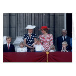 No.26 Prince William salutes 1986 Greeting Card